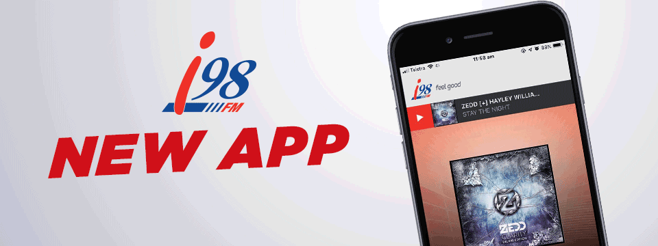 Download the new i98FM app!