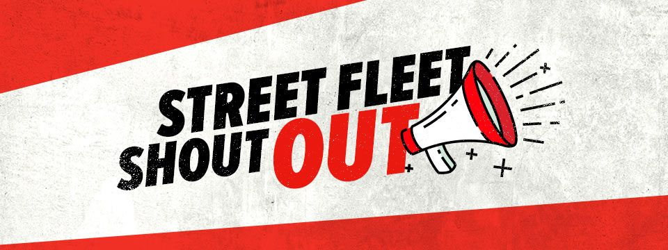 Register your business to get a FREE Street Fleet Shout Out!