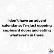Let the world be your advent calendar!
