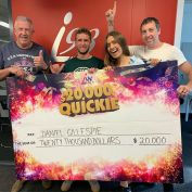 Congratulations to Daniel from Kiama who correctly identified all five mystery songs in i98's $20,000 Quickie! 🎉 🎶 💰