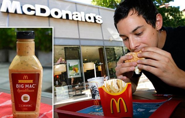McDonald's Big Mac 'special sauce' on sale only in Australia