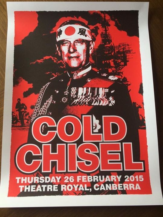 Cold Chisel are performing in Canberra tonight….
