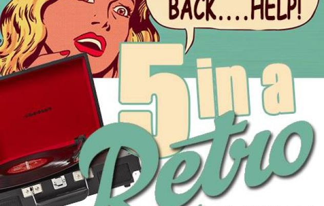 Live Tonight's - Five in a Retro is back…. a…