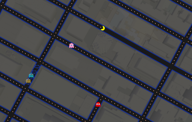 Google Maps Is Now a Giant Game of Pac-Man
