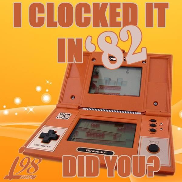 Who remembers when the Nintendo Game & Watch was…