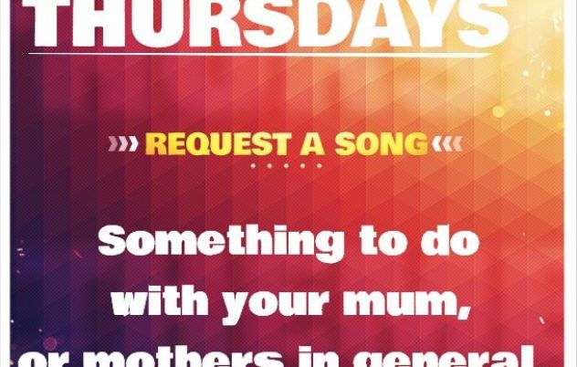 Theme Thursday for the Request Hour again. With…