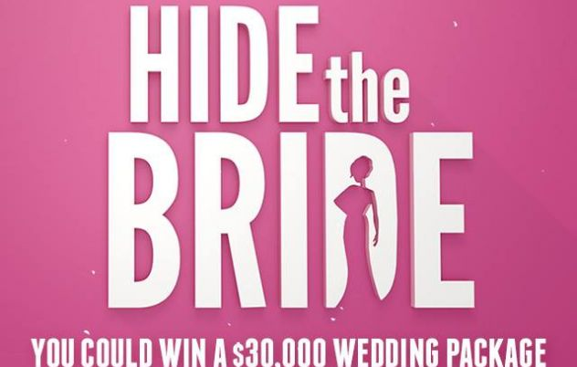 Keep your entries coming for Hide the Bride where…