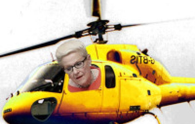 Bronwyn Bishop Apologises For Choppergate.