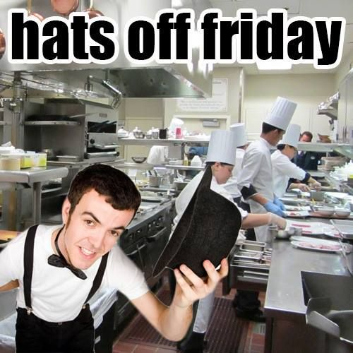 "It's ""Hats Off Friday"" and we are sending a shout…"