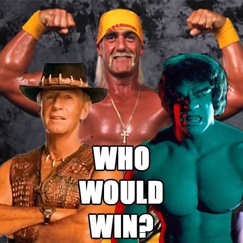 Here's an age old question…. Who would win in a…