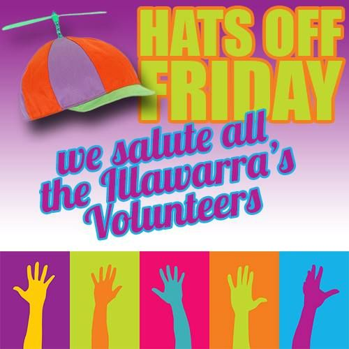 "It's another ""Hats Off Friday"" tonight we salute…"