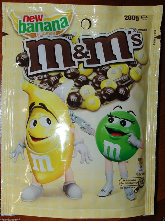 M&M's now come in a new flavour… Banana! Why…