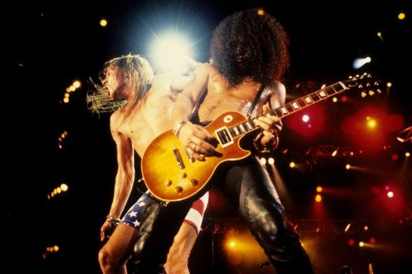 Guns N' Roses (Well, Axl Rose and Slash, Anyway) Reportedly to Reunite for 25 Dates Including…