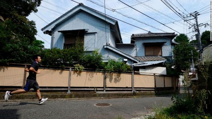 Japan has so many vacant homes it's giving them away