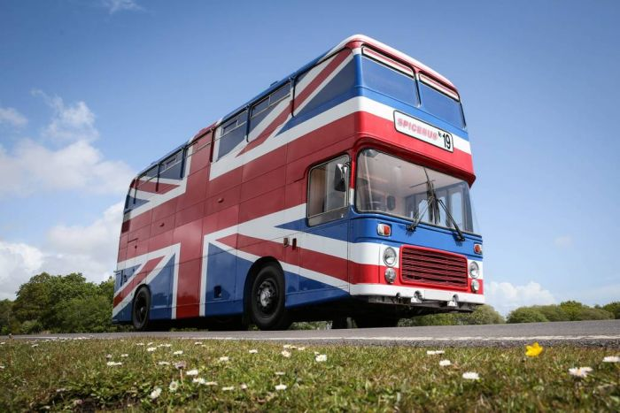 The original Spice Bus from 1997 movie Spice World - Buses for Rent in Greater London, England, Unit