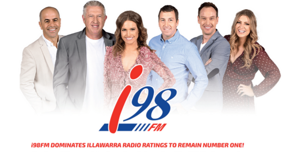 i98FM dominates Illawarra radio ratings to remain number one!