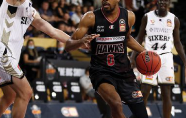 Illawarra Hawks storm home to beat Sixers in NBL Cup