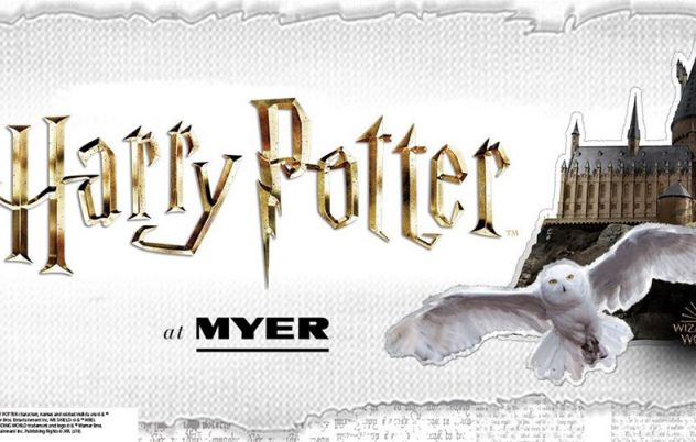 Myer Melbourne to host Australia's largest Harry Potter store
