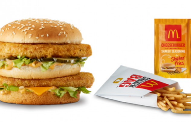 Macca's have unleashed the Chicken Big Mac & Cheeseburger Shaker Fries!