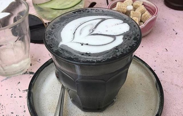 Are you ready for an activated charcoal latte?