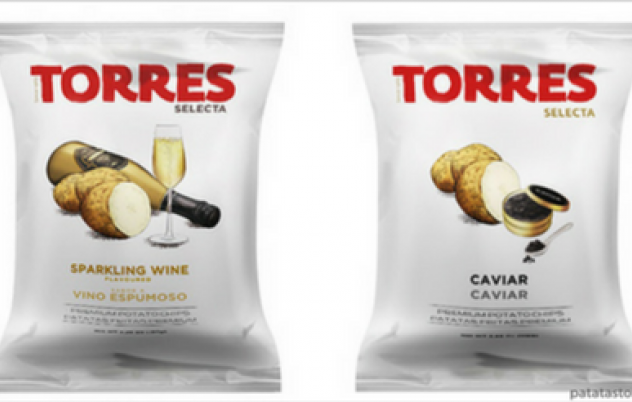 Sparkling wine chips; the next taste trend?
