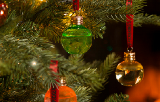 Make Christmas Merry with Gin Baubles