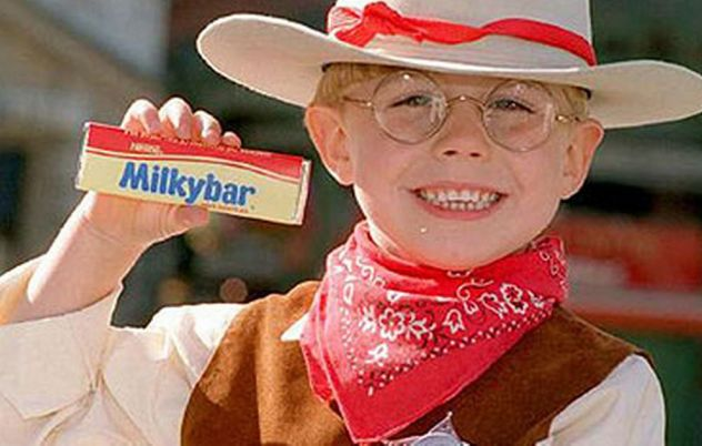 Nestle is messing with the Milkybar recipe