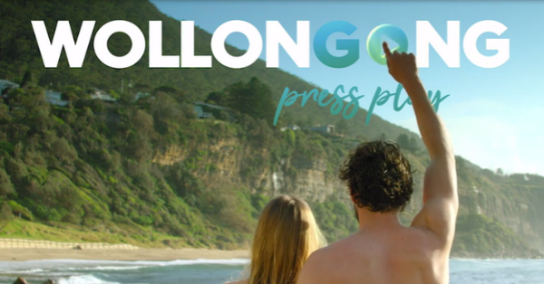 Destination Wollongong Press Play on new branding